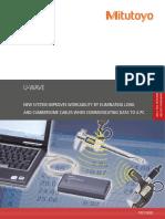 Mitutoyo - System Przenoszenia Danych U-Wave - PRE1330(2) - 2014 EN