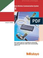 Mitutoyo - System Przenoszenia Danych U-Wave - E12000(2) - 2015 EN