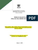 Track Machine Manual