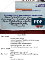 1 Introduction to First Aid