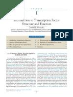 Factores de Trasncripción