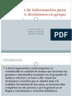 Sistemas de información para la toma de decisiones en grupo