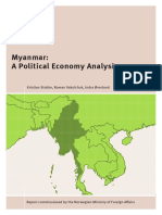 NUPI Rapport Myanmar Stokke Vakulchuk %C3%98verland