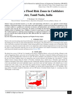 Delimiting the Flood Risk Zones in Cuddalore District, Tamil Nadu, India