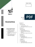 Shore 2012 Economics Trials & Solutions