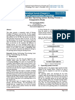 Boot Process pdf   Operating System   Booting