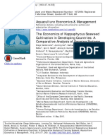 B_Valderrama Et. Al. (2015) the Economics of Kappaphycus Seaweed Cultivation in Developing Countries