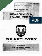 POMM 9-1005-294-14 XM177E2 SMG(1967)
