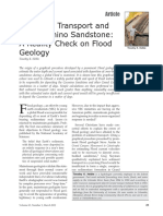 Sediment Transport and the Coconino Sandstone