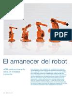 El Amanecer Del Robot Abb