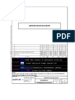 Earthing Design Calculation Alstom