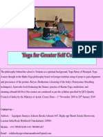 Yoga for Greater Self Control