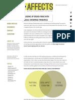 Building Up Design Firms With Social Enterprise Principles - Design Affects