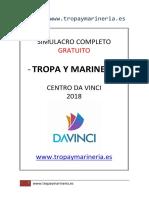 Simulacro Tropa y Marineria - Centro Da Vinci - 2018
