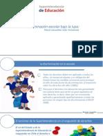 PPT-Reporte Sobre Discriminación Escolar Superintendencia de Educación