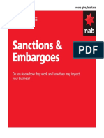 Sanctions and Embargoes.1