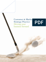 Customer market strategy