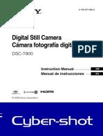 Camara Fotos Sony DSCT900