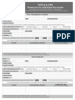 FATCA CRS Declaration Form-Individual
