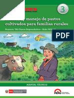 Siembra y Manejo de Pastos Cultivados Para Familias Rurales