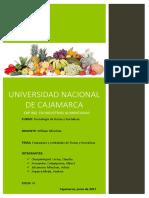 Empaques y Embalajes Utilizados en Frutas y Hortalizas