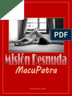 MISION DESNUDA Poemario MacuPatra
