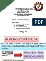 MEJORAMIENTO DE SUELOS