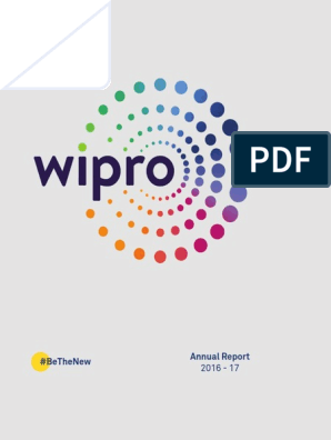 Wipro Annual Report for FY 2016 17 | Strategic Management