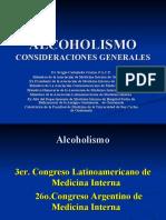 ALCOHOLÍSMO. Arg.