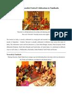 All About Navarathri Festival Celebrations in Tamil Nadu