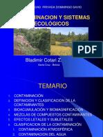 Cap 2 Contaminación y Sist Ecologi