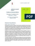 Review Beltran Familia-Experiencia-grupal-basica CeIR V4N2