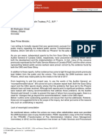 PSAC public Inquiry Letter to PM