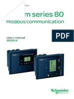 Sepam80 MODBUS Manual
