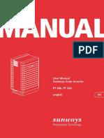 Sunways Pt30 33 Manual En