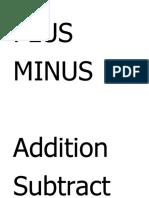 PLUS and minus.docx