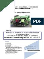 Plan_trabajo de Los Residuos Solidos