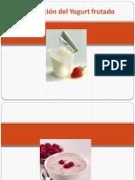 Elaboración del Yogurt frutado