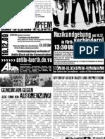 Aufruf gegen einen Nazi-Kundgebung am 19.12.09 [Fürth]