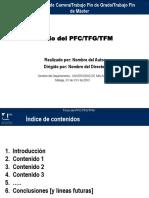 Plantilla Presentacion