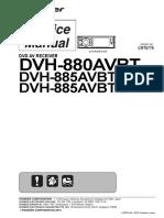 Pioneer Dvh 880avbt