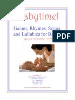 123 rhyme Manual