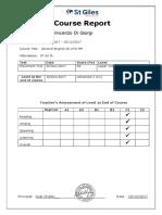 Vincenzo Di Giorgi C1 General English St Giles Course Report