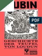 Aubin - Geschichte Der Teufel Von Loudun