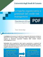 Le logiche organizzative del Risk Management