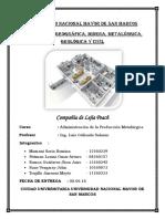 Caso - Compañia Lejía Peach