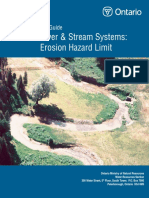 River & Stream Systems Erosion Hazard Limit