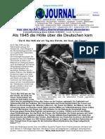 Als 1945 die Hölle über die Deutschen kam