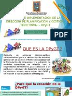 Presentacion Dpygt Oficial