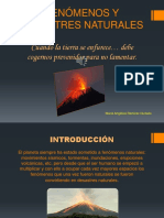 PPT DESASTRES NATURALES